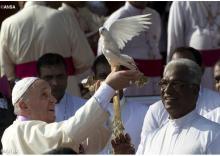Ferenc pápa üzenete a béke 50. világnapjára