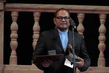 Príma-díjat vehetett át Chavvakula Lourduraju indiai verbita szerzetes