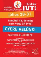 Ifjúsági Világtalálkozó Krakkóban
